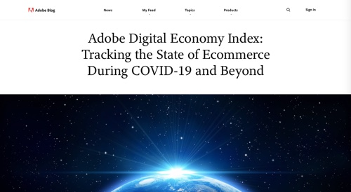 Blog Adobe - Indice de l'économie numérique