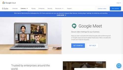 Rencontre avec Google