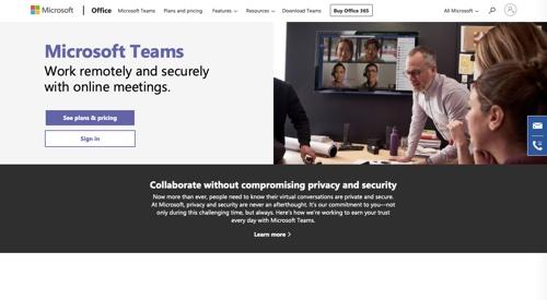 Les équipes Microsoft
