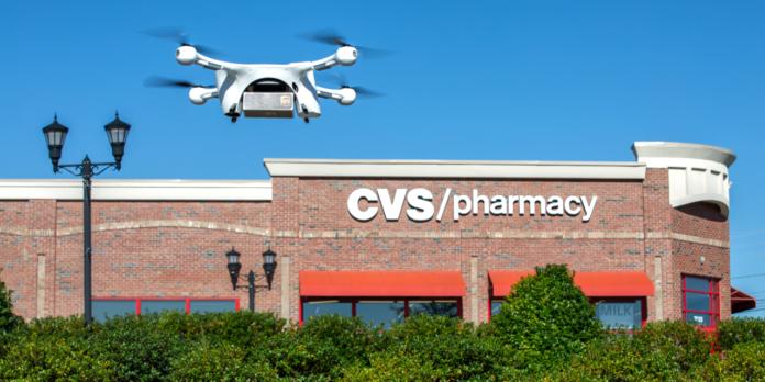 Livraison par drone UPS CVS