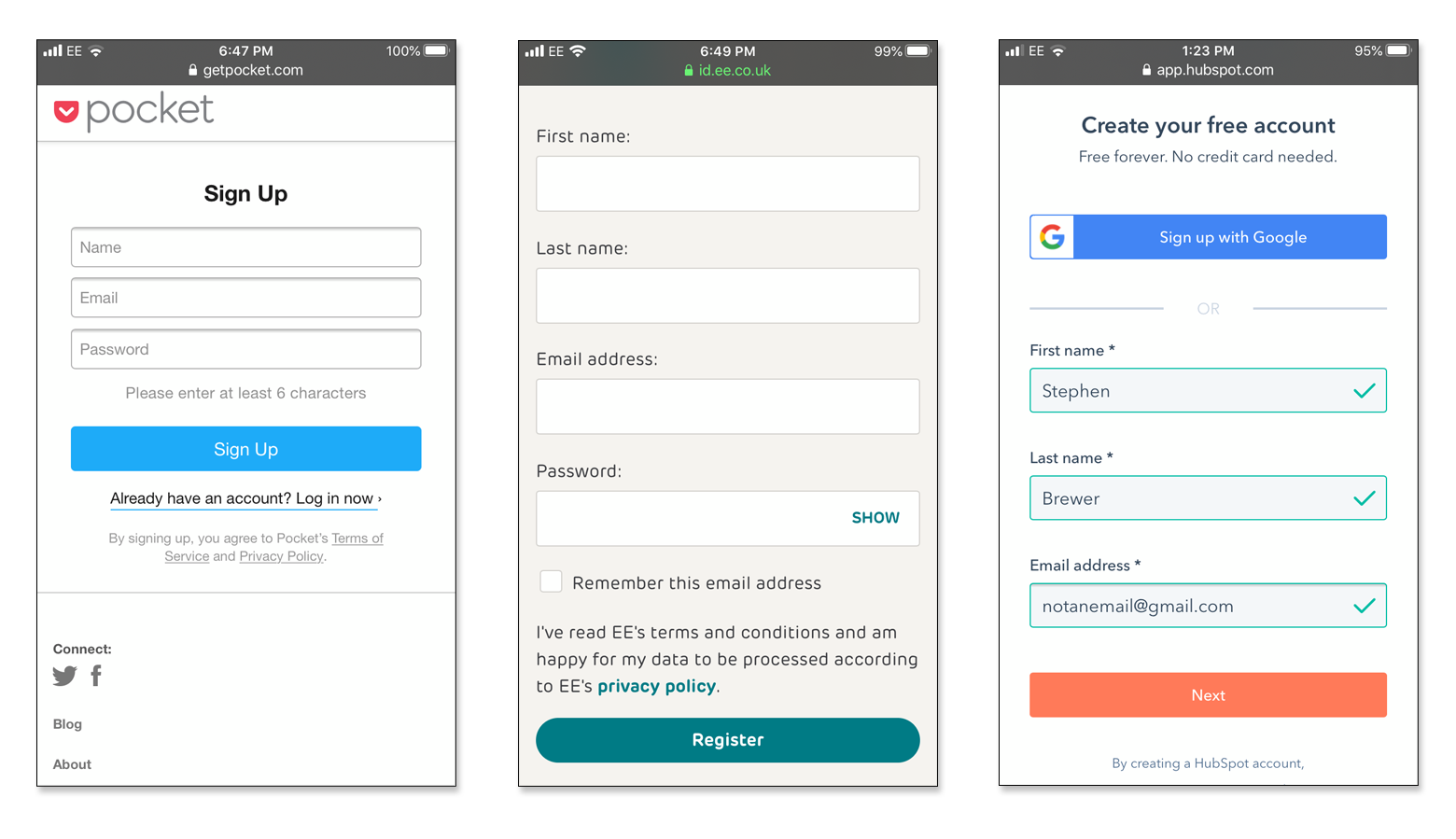 Créer une page d'accueil très convergente sur le mobile