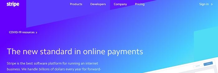 Stripe est un exemple de facilitateur de paiement, qui crée un compte marchand principal et affecte ensuite les entreprises individuelles à des sous-comptes.