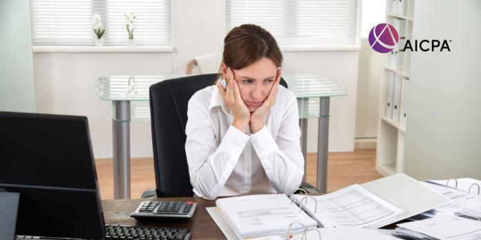 AICPA PPP Frustration de prêt
