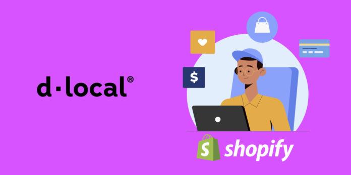 dLocal - Intégration de paiement Shopify