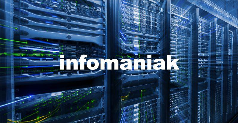 L'hébergeur Infomaniak