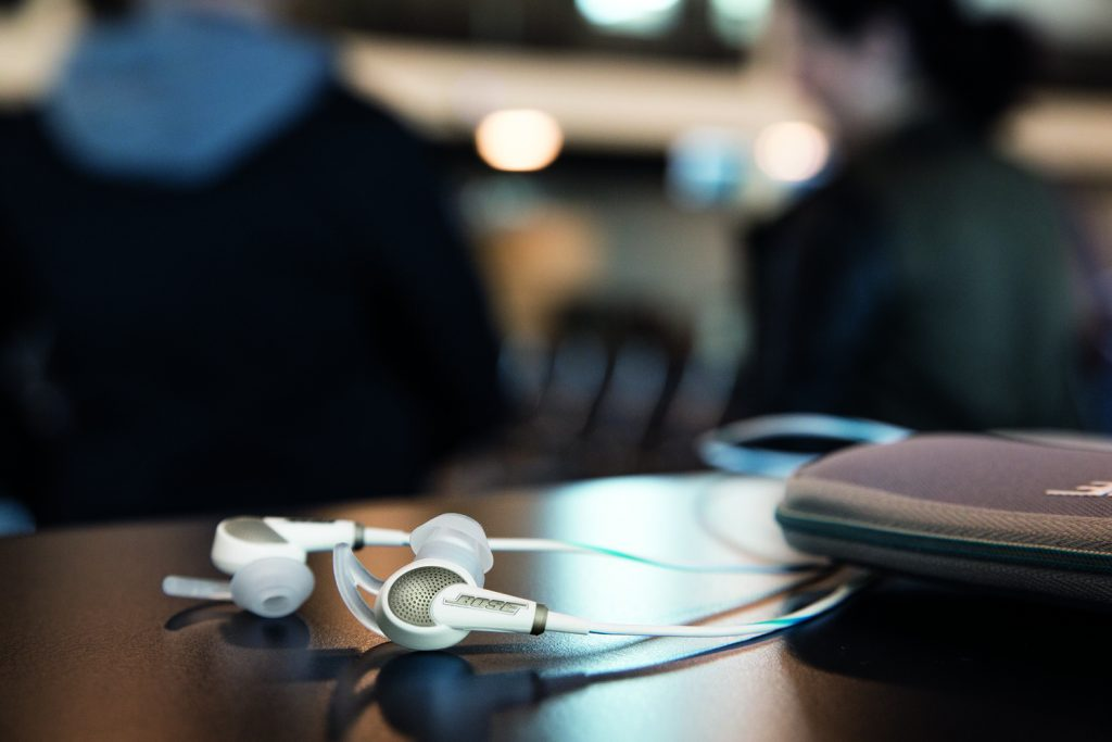 Les écouteurs Bose