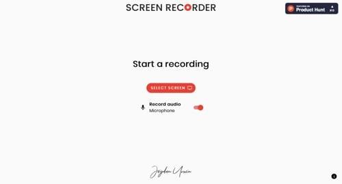 Enregistreur d'écran