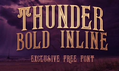 Thunder Bold Inline
