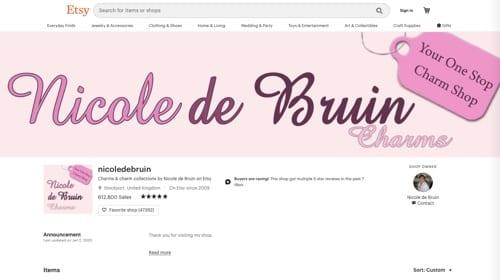 Charmes Nicole de Bruin