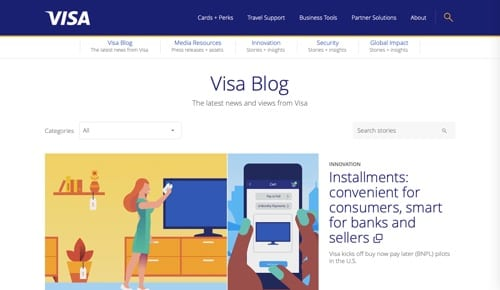 Blog Visa