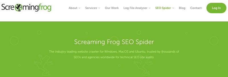 Le SEO Spider de Screaming Frog est un outil utile pour identifier les erreurs d'exploration potentielles, tout comme DeepCrawl. Cependant, ni l'un ni l'autre n'est infaillible, cependant, dans la réplication parfaite des robots de recherche.