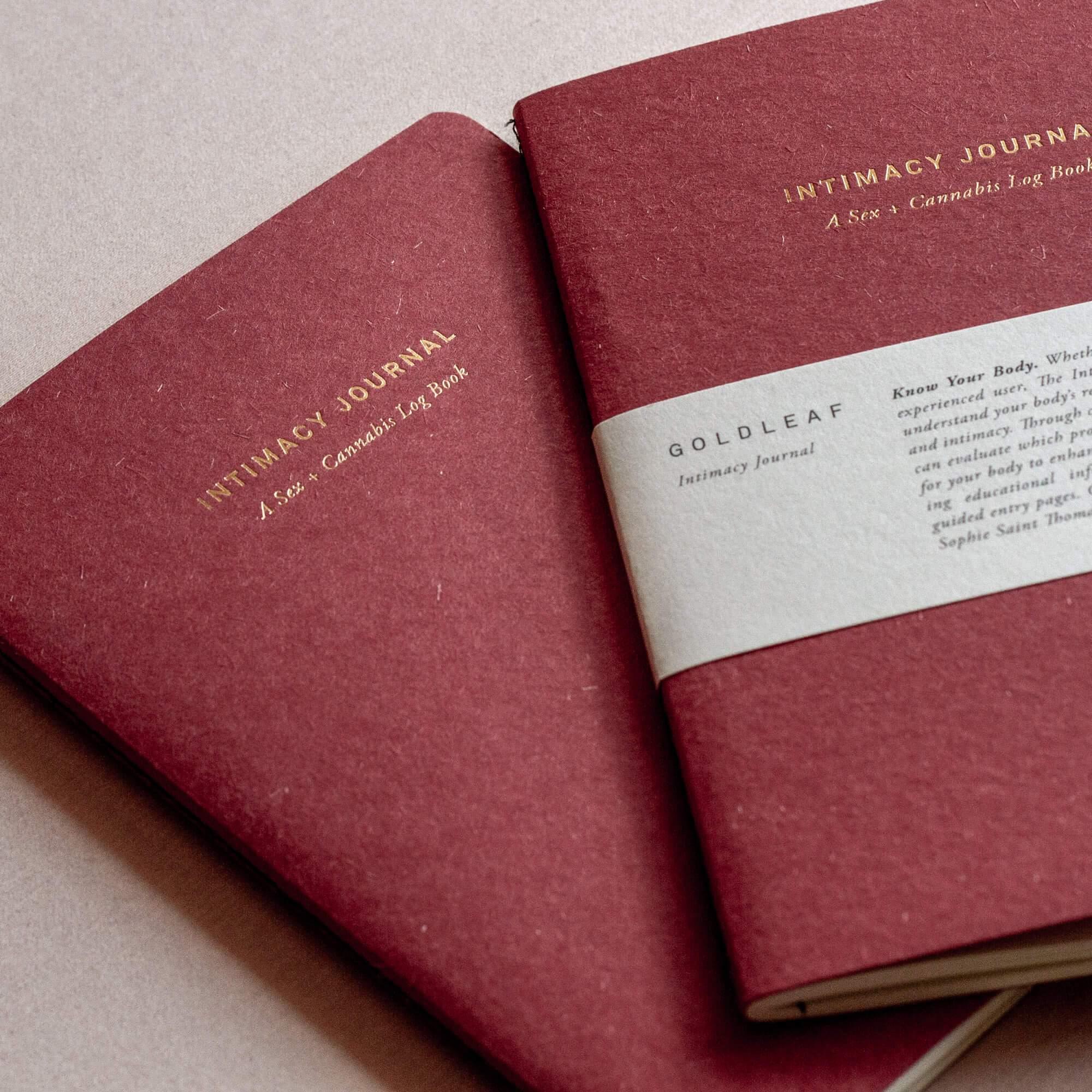 The Intimacy Journal par Goldleaf, Foria et Sophie Saint Thomas