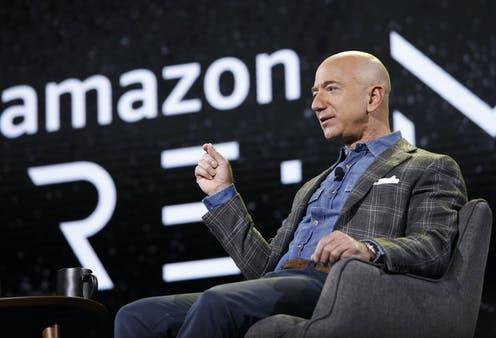 Jeff Bezos fondateur d'Amazon