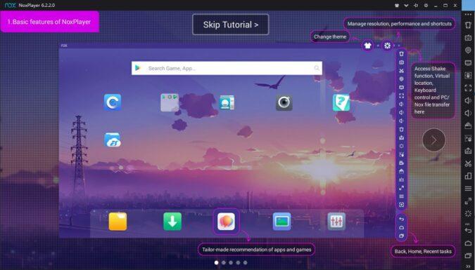 émulateur android sur Mac